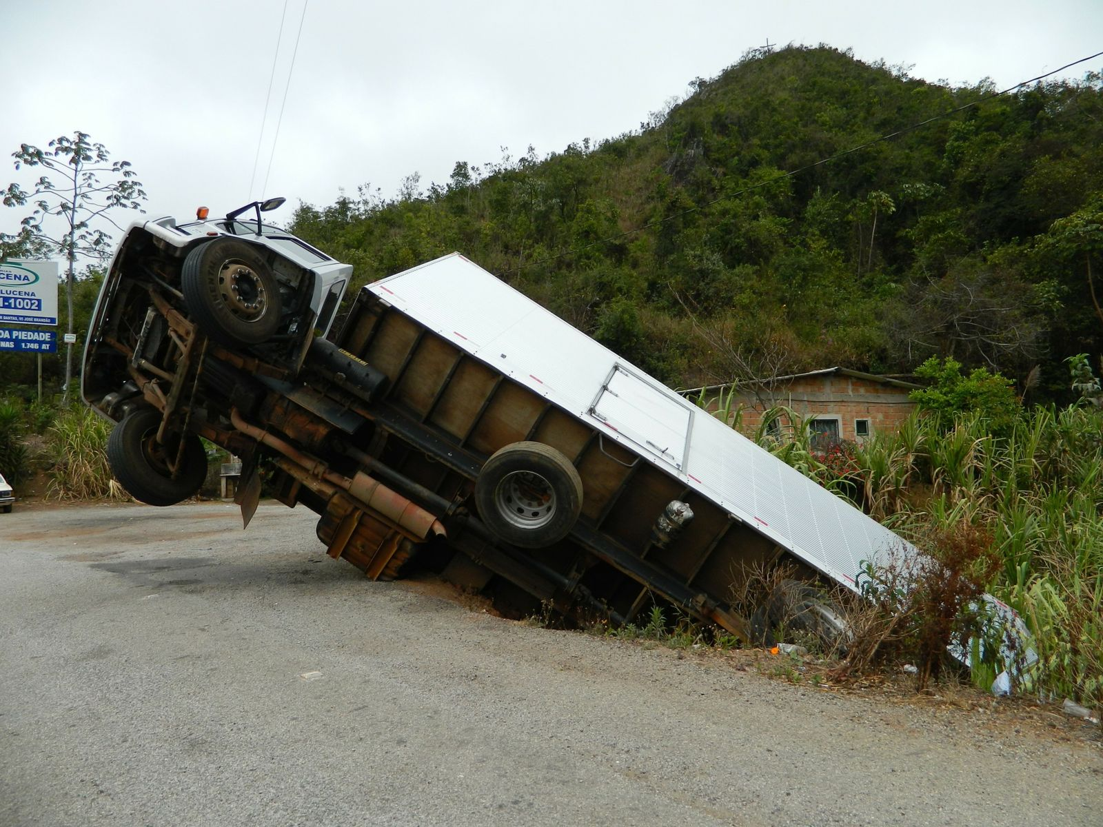 Some Truck Crashes Are Caused by Driver Fatigue