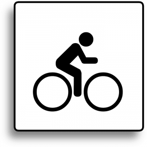 Watch for Bicycles Sign