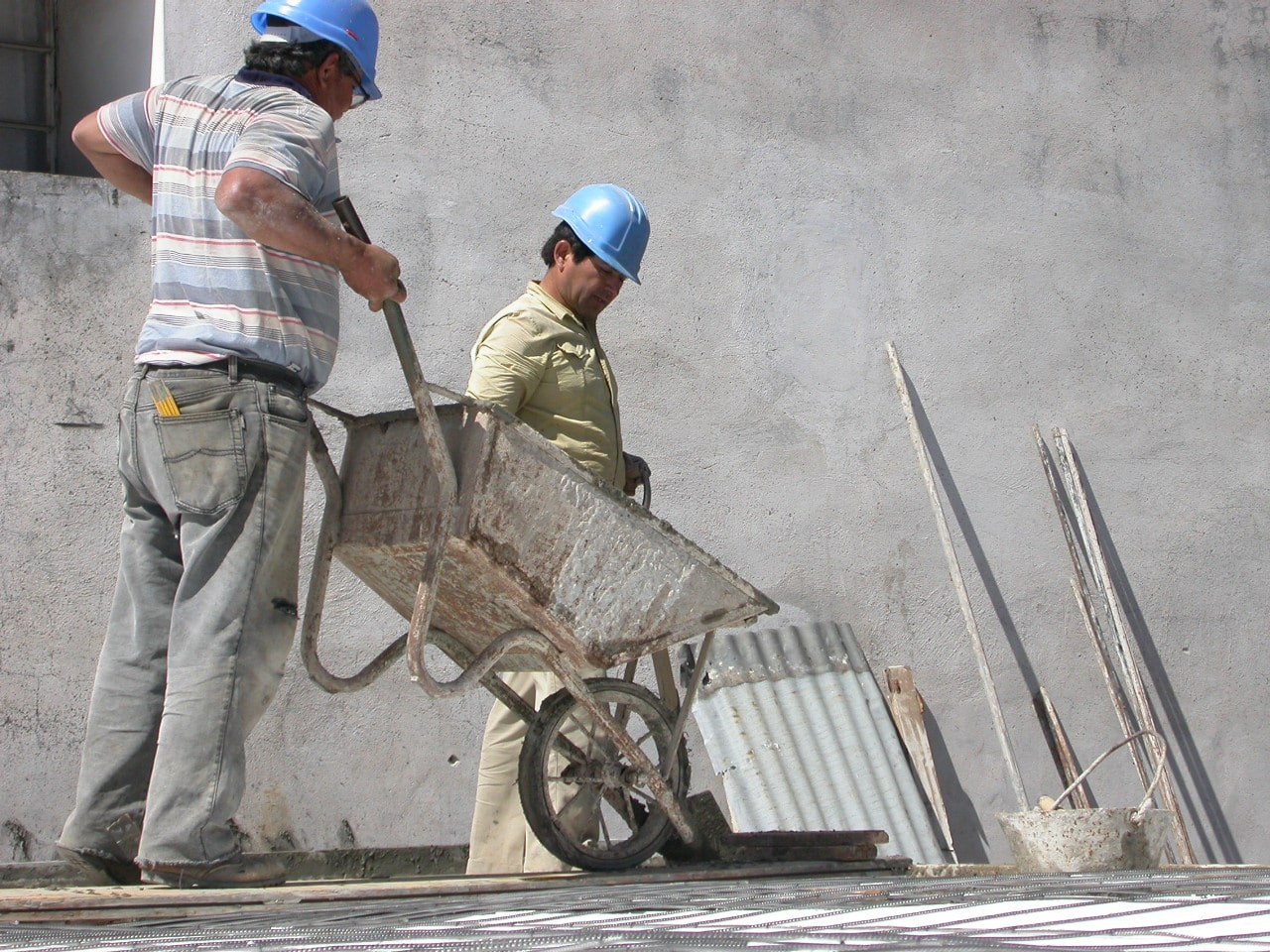 Construction Materials with Asbestos