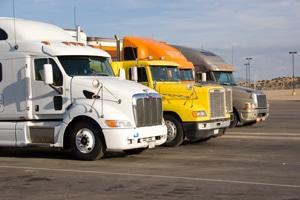 safe driving around semi trailer trucks