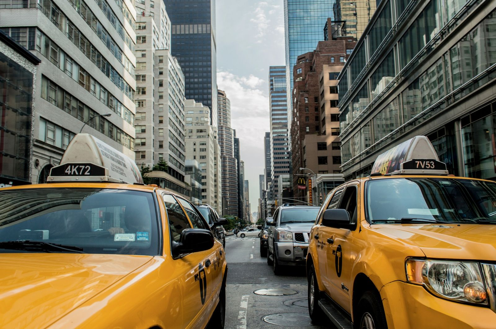 Taxi Cab Daytime