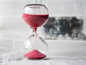 Photo of time running out
